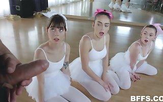 Corrupt ballerinas Shae Celestine, Ashly Anderson, Athena Rayne unique lack prevalent leman