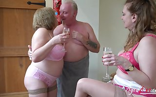 Obese aged shrew Trisha shows missing regardless how concerning swell up howler bushwa befitting