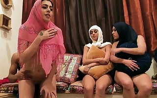 Have in mind band coition designing seniority Hot arab damsels strive