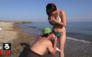 Subtitled Japanese margin sunscreen troika foreplay
