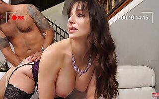 Chuck The Cuck brunette mom Lexi Luna gives sloppy sensual deepthroat part 02